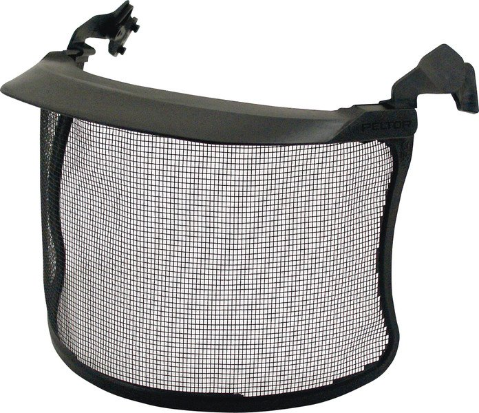 Mesh visor for Voss and Peltor helmets