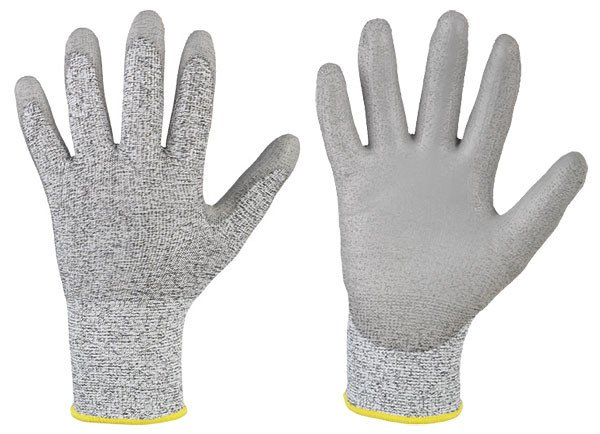 Cut-resistant glove GREY CUTGRIP