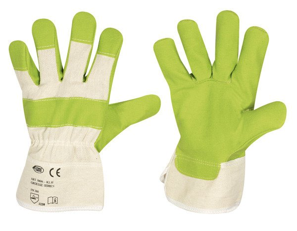 Artificial leather glove, KLH