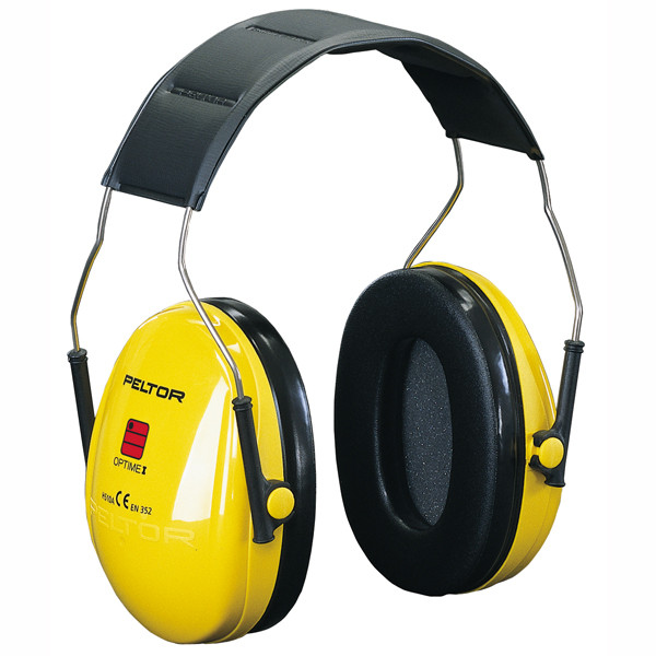 Peltor Optime I capsule ear protection