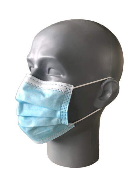 Hygienic mask, 3 Ply