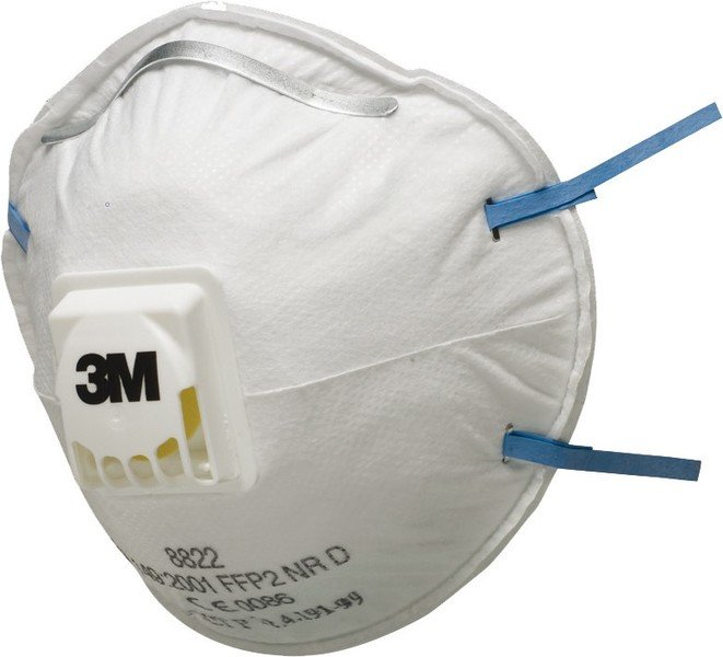 3M respirator mask Classic P2, with valve